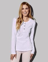 Sharon Henley Long Sleeve for women