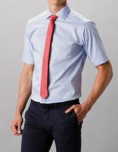 Men`s Classic Fit Executive Premium Oxford Shirt Short Sleeve