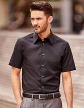 Men`s Short Sleeve Tencel® Fitted Shirt