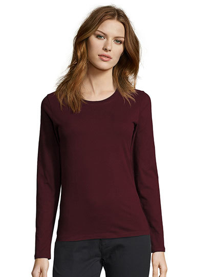 Women`s Long-Sleeve T-Shirt Imperial